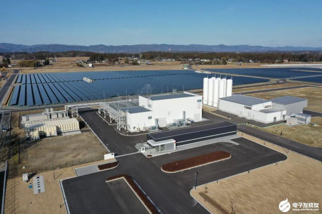东芝福岛县太阳能制氢厂宣布投入运营 每小时可产生1200立方米的氢气