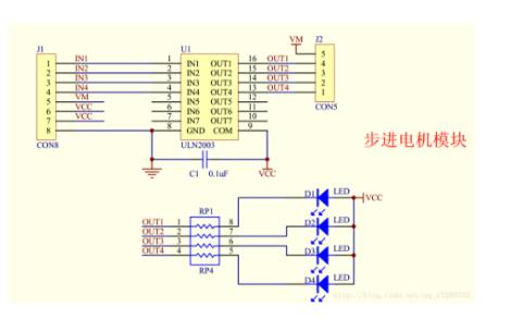 STM32控制步進電機的資料和代碼及講解說明