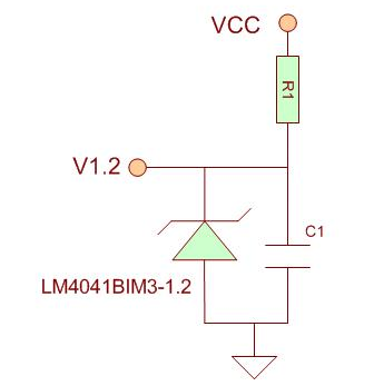 温度传感器返回误差问题 稳压管电路的精度计算