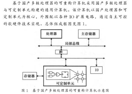 基于国产龙芯3A处理器和FPGA器件实现可重构计算机的设计