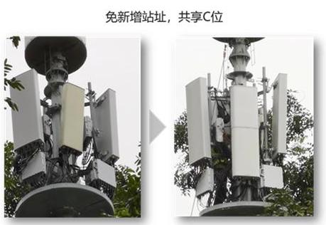 珠海联通联合华为率先部署了首个面向商用的1.7m一体化A+P基站设备