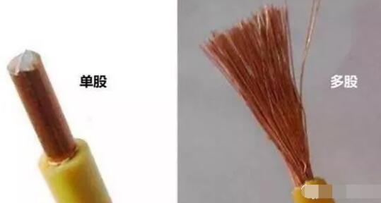 单股电线和多股电线的区别