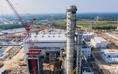 南方电网首座天然气调峰电厂正式投入运行