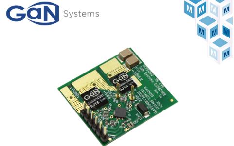 貿澤電子將備貨GaN Systems的GS-EV...