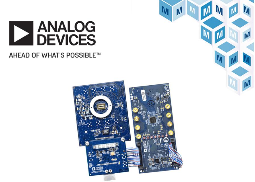 貿澤開售Analog Devices可定制的模塊化LiDAR原型設計平臺