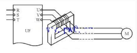 变频器与电机距离过长的解决办法