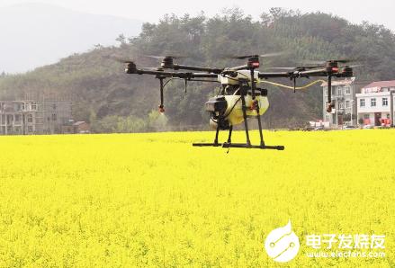 阳新用无人机飞防作业 不到两个小时就完成300多...