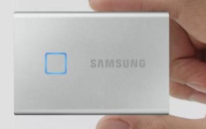 小米有品上架三星T7 Touch移动SSD,支持指纹识别