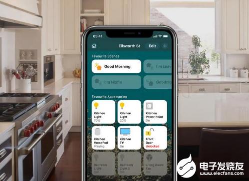 苹果智能家居平台HomeKit升级 将获得更多智能照明和安全摄像机支持