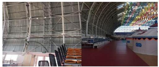 内蒙古联通携手华为实现了兴安盟突泉体育馆5G信号全面覆盖