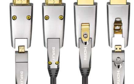 光纤HDMI高清线助力4k显示长距离传输更流畅
