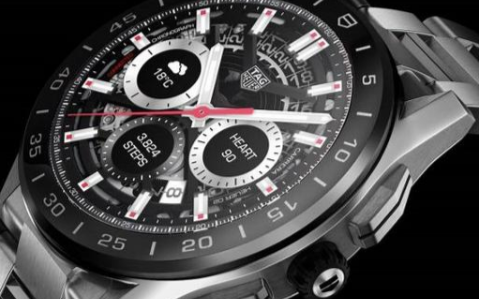 泰格豪雅新推Connected 2020系列运动追踪智能手表