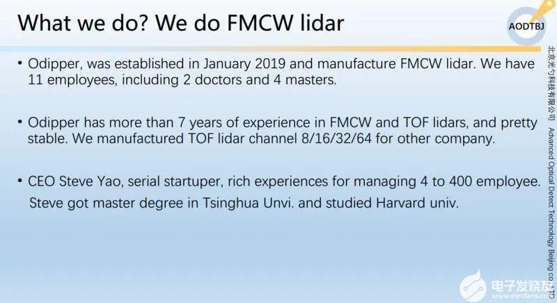 路演实录 | 光勺科技切入FMCW激光雷达赛道
