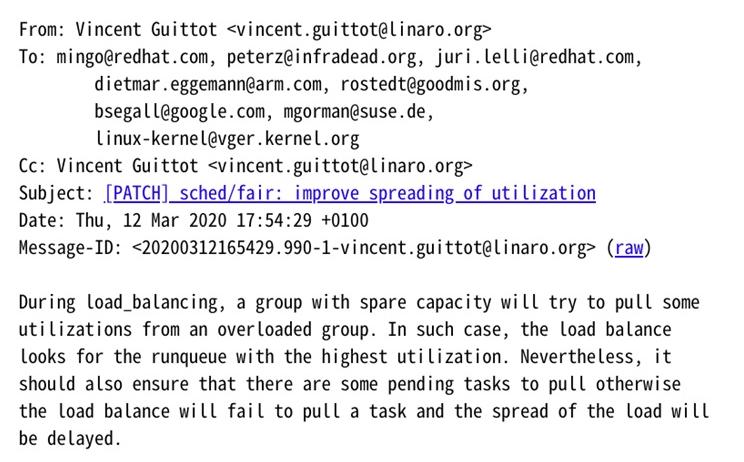 Linux负载均衡算法的瑕疵将修复