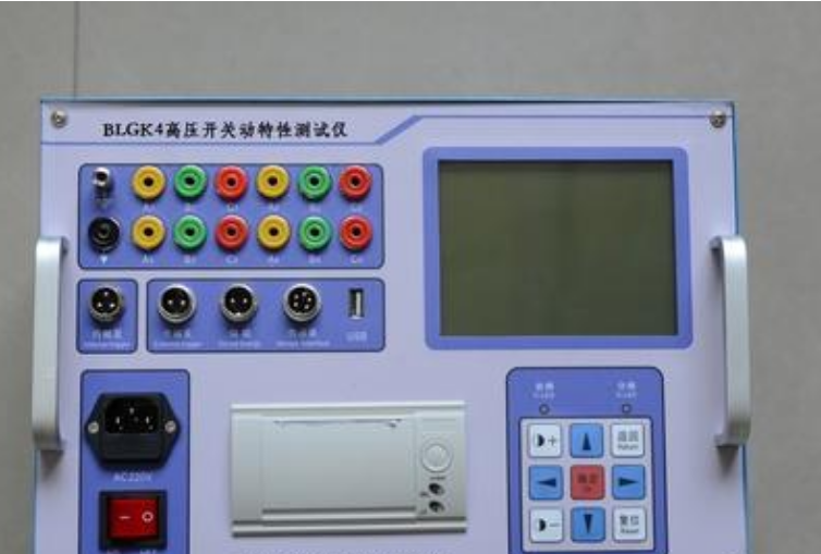 高压开关机械特性测试仪的工作原理