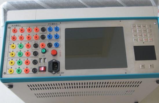 KJ880微机继电保护测试仪的操作规程