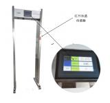 路博LB-104门框式红外测温仪的特性与结构
