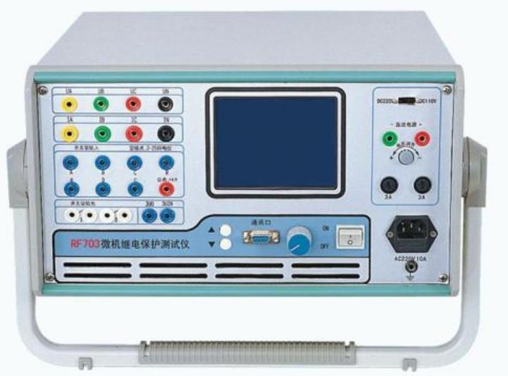 最新型六相微机继电保护测试仪的介绍