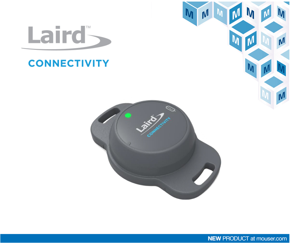 貿澤電子開售Sentrius BT510傳感器 提供可靠的藍牙5長距離連接