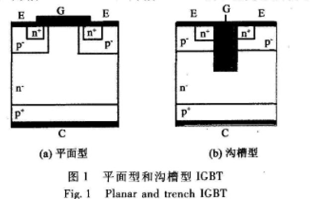 高压Trench IGBT的结构设计和工艺设计和制作说明