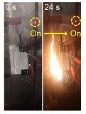 固态电池领域获全新突破 着火情况下还能供电