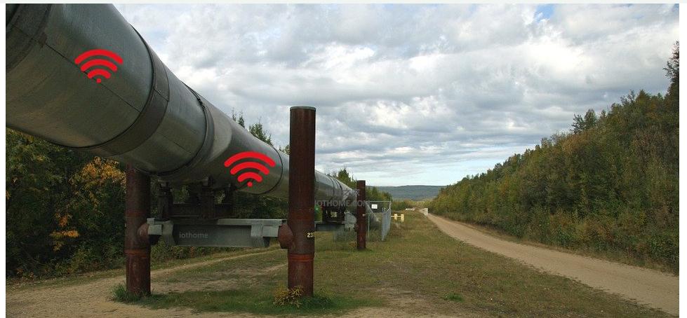 石油和天然氣管道的檢測方式如何用物聯網來改變