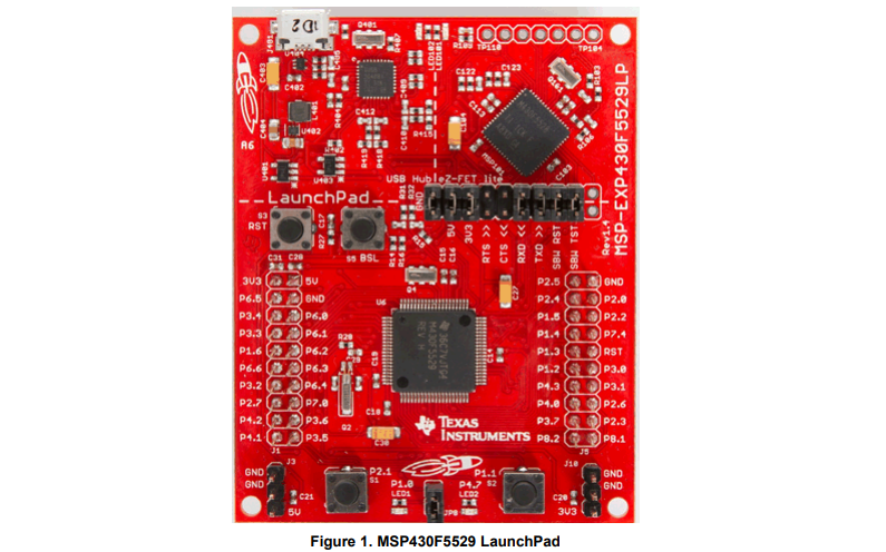 MSPEXP430F5529LP开发板的用户指南免费下载