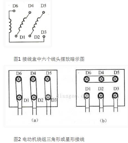 三相异步电动机的两种接线方法