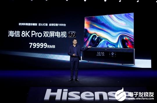 海信发布全球首款8K Pro双屏电视 以世界级画质打造家庭云中心