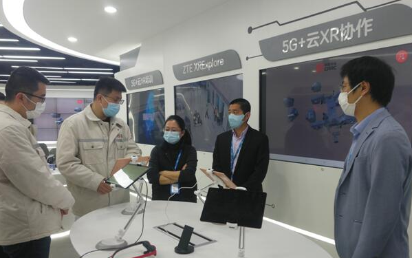 中兴通讯联合中车数字和江苏移动开发的5G云XR协作应用已成功验收