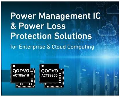 Qorvo推出两款高性能PM竞技宝lol用于数据中心、云存储和计算应用