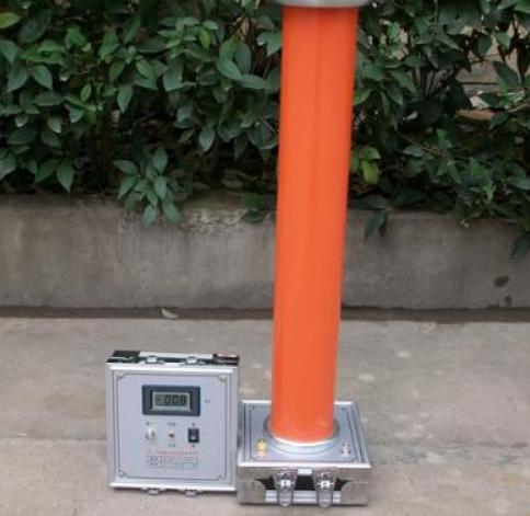 高压分压器的接线工作