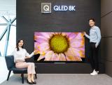 三星推出9款QLED电视 8K电视市场主导地位进...