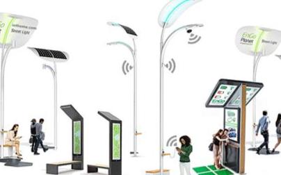 智慧灯杆+5G微基站,开启万物互联新时代