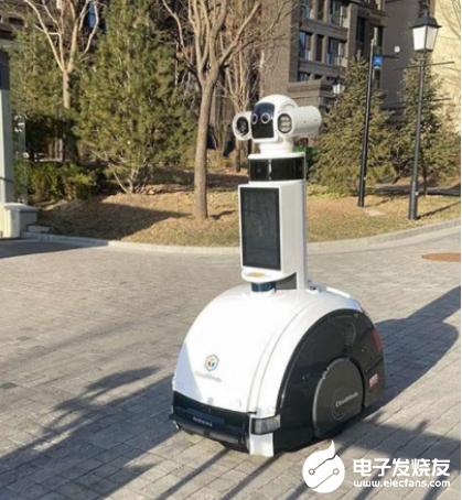 太原機器人助力疫情防控 不需要人工進行干預