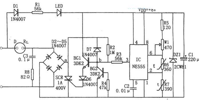 四款温度自动控制电路图详解