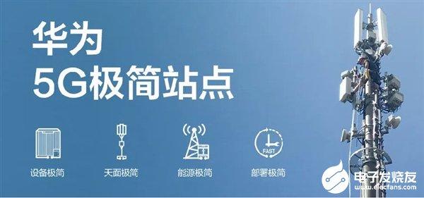 华为5G极简站点解读 进一步降低5G部署难度与成本