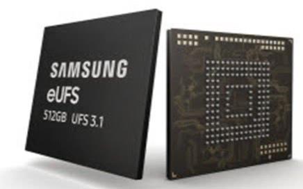 三星推出eUFS 3.1存储器,传输速度极快