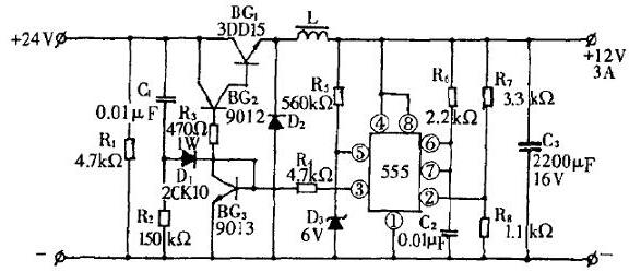 三款降压开关电源电路图详解