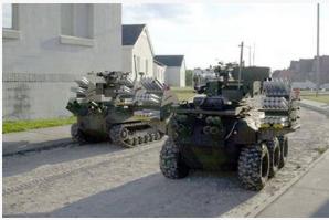 俄國正在研究陸上機器人在未來智能戰爭中的應用