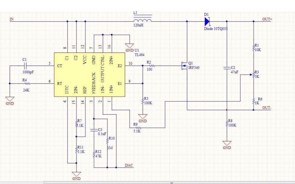 TL494NEW开关电源脉宽调制控制芯片的数据手册免费下载