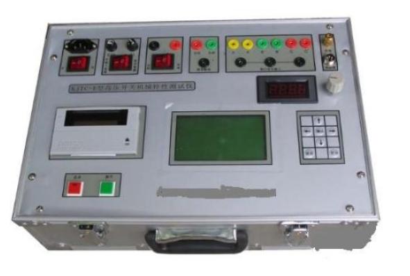 高压开关机械特性测试仪的连线说明
