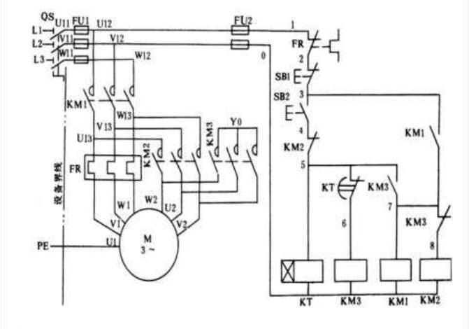 三相异步电动机Y—Δ改换主张的操控原理