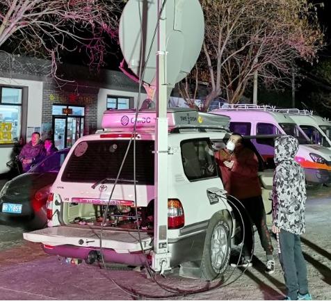 北京移动成功完成了火灾现场通信网络应急保障任务