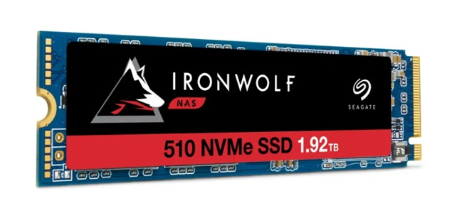 全球首款 希捷发布商用NAS PCIe固态硬盘