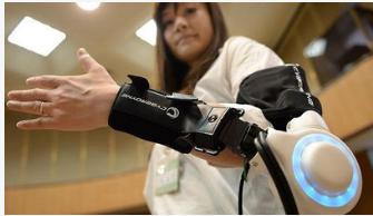 日本京都府宇治市推出了一種穿戴型機器人