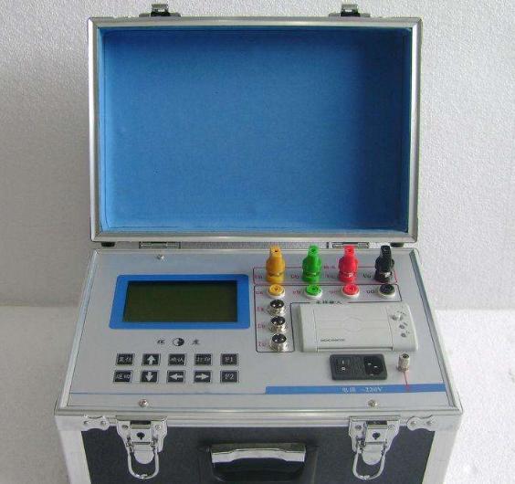 三相电容电感测试仪的使用说明