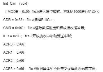 基于CAN控制器SJA1000和与P89C668...
