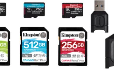金士顿正式发布全新的CanvasPlus系列存储卡