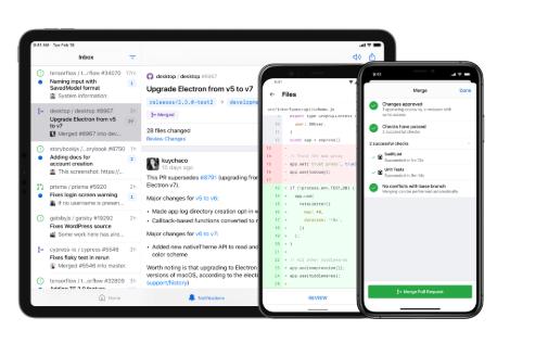GitHub iOS和Android客户端发布稳定版
